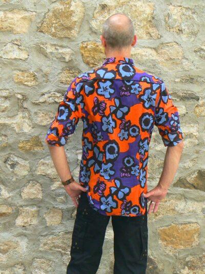 Chemise homme colorée hippie-chic Kali Yog (2)