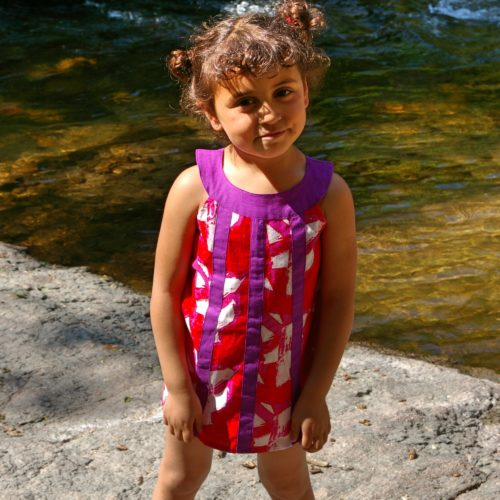 Robe enfant Kali Yog Cléo, www.LaTribu.shop