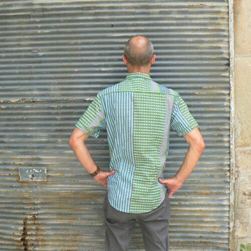 Chemise homme Kali Yog Kishor, Techno, www.LaTribu.shop