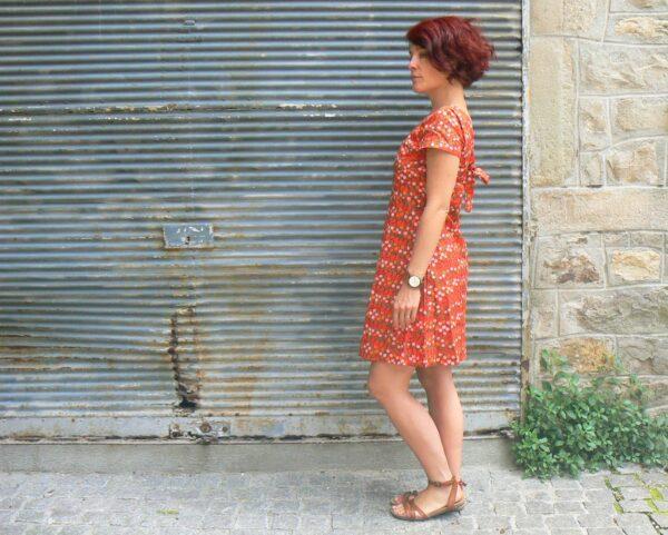 Robe Bla-bla Angola, Cherry, www.LaTribu.shop