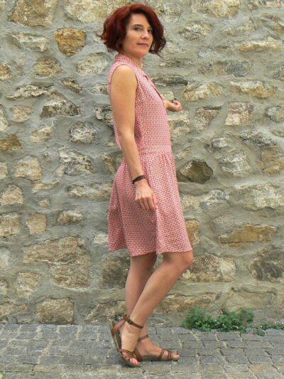 Robe Princesse Nomade Rond3, Red, www.LaTribu.shop