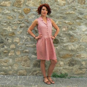 Robe Princesse Nomade Rond3, Red, www.LaTribu.shop