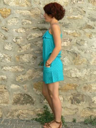 Combi short Oli 16, Green, www.LaTribu.shop