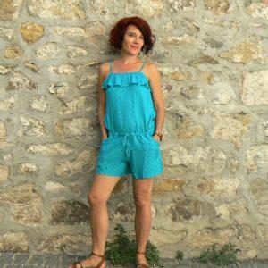 Combi short Oli 16, Green, www.LaTribu.shop