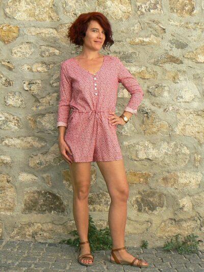 Combi short Oli 18, Red, www.LaTribu.shop