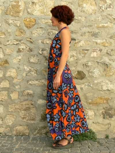 Robe Kali Yog Penelope longue, Big flo, www.LaTribu.shop
