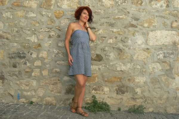 Robe Oli 01, Blue, www.LaTribu.shop