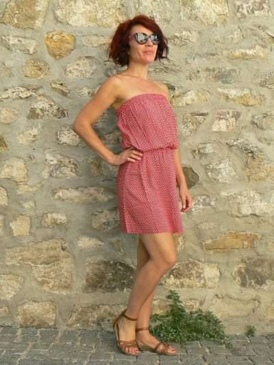 Robe Oli 4, Red, www.LaTribu.shop