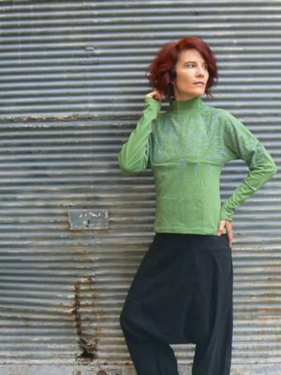 Top Kali Yog Smak, Green, www.LaTribu.shop