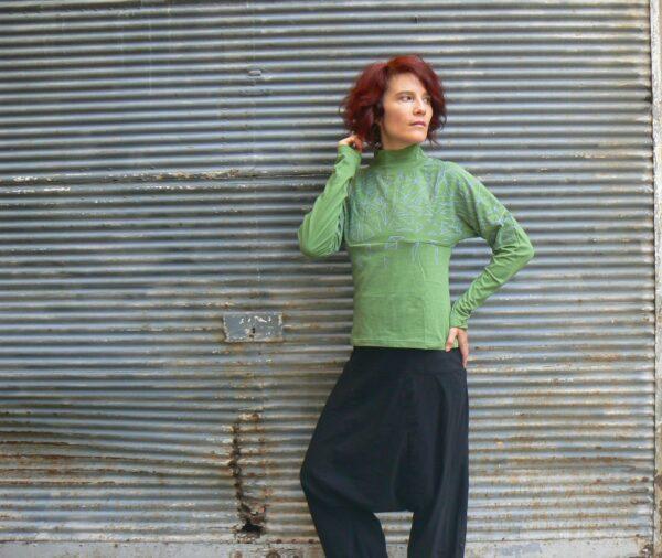 Top Kali Yog Smak, Green, www.LaTribu.shop