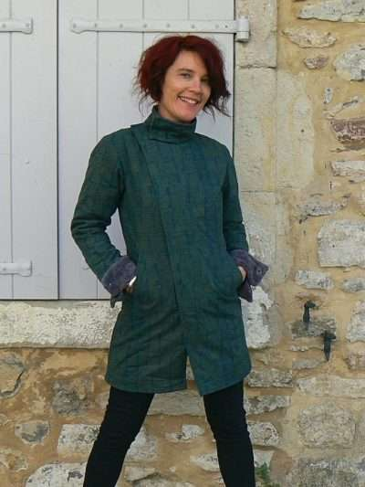 Manteau Kali Yog Nomad, Green, www.LaTribu.shop