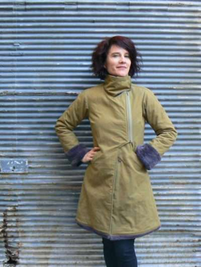 Manteau Kali Yog Tibetan, Green, www.LaTribu.shop 1