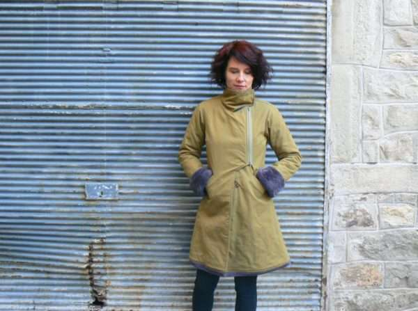Manteau Kali Yog Tibetan, Green, www.LaTribu.shop
