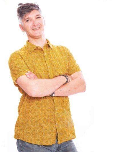 Chemise homme Kali Yog Phutro, Sunny, www.LaTribu.shop