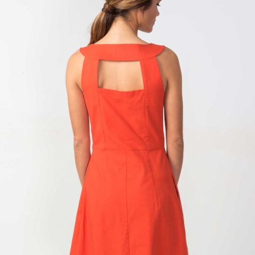 Robe Skunkfunk Kaule, Orange, www.LaTribushop