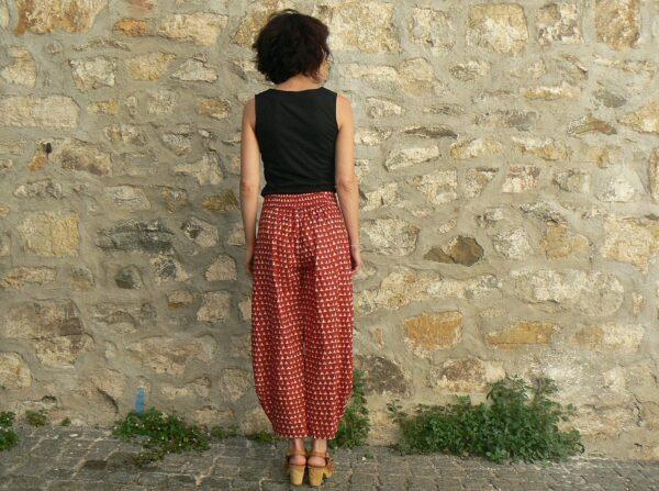Pantalon Kali Yog Steph, Block red, www.LaTribu.shop 2