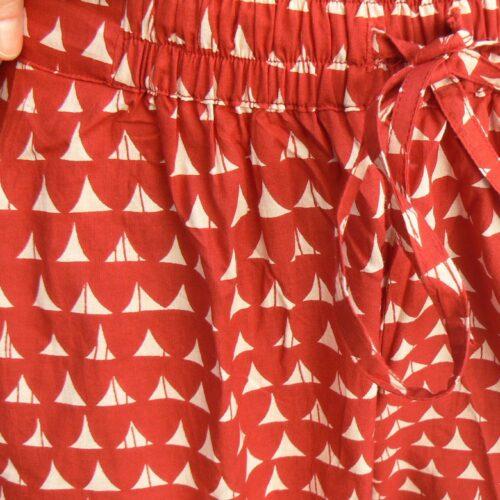 Pantalon Kali Yog Steph, Block red, www.LaTribu.shop 4