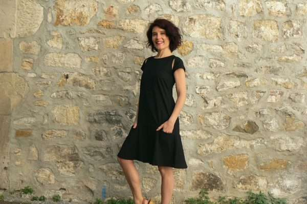 Robe BlaBla Merle, Black, www.LaTribu.shop 1