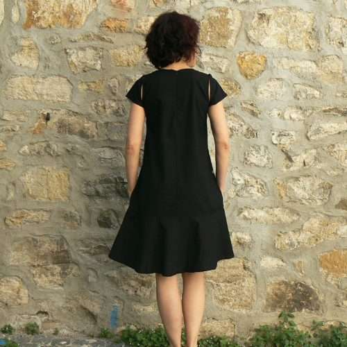 Robe BlaBla Merle, Black, www.LaTribu.shop 2