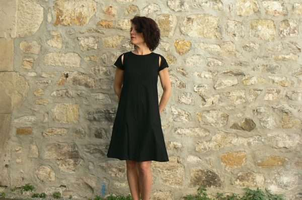 Robe BlaBla Merle, Black, www.LaTribu.shop