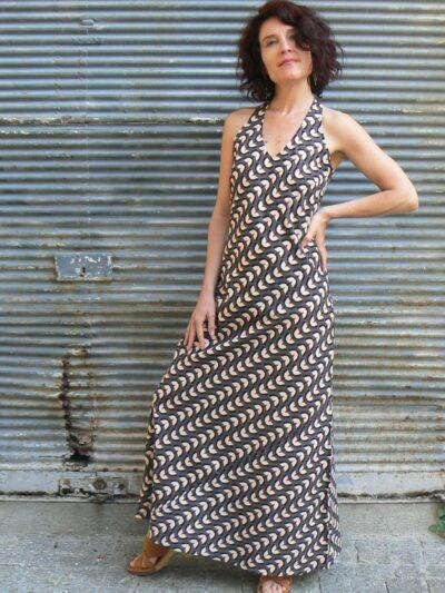 Robe longue Kali Yog Penelope, Holi, www.LaTribu.shop
