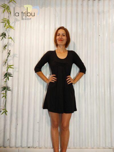 Robe tunique BlaBla Ino, Black, www.LaTribu.shop (1)