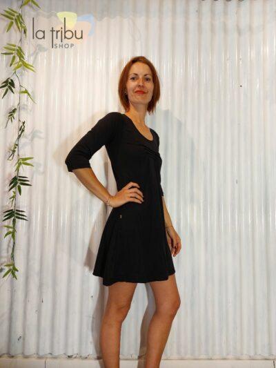 Robe tunique noire BlaBla (2)