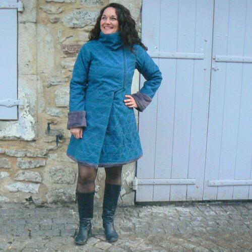 Manteau Kali-Yog Tibetan, Blue, www.LaTribu.shop (2)