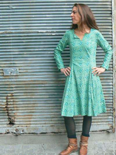 Robe Kali-Yog Folie, Green, www.LaTribu.shop (1)
