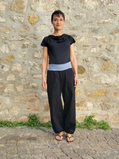 Pantalon Kali-Yog Yogi, Black, www.LaTribu.shop (1) allégée