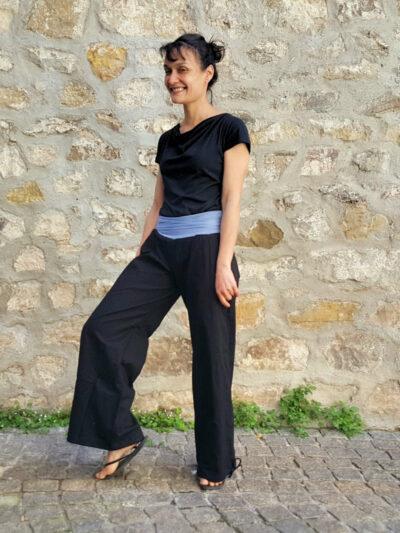 Pantalon Kali-Yog Yogi, Black, www.LaTribu.shop (2) allégée