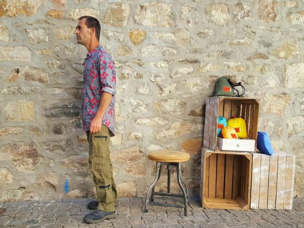 Chemise Kali-Yog Mangui, Flospi grey, www.LaTribu.shop (2)