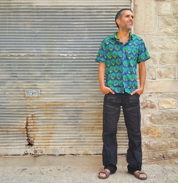 Chemise homme colorée Kali-Yog (1)