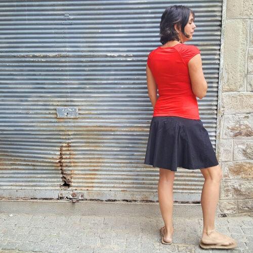 Jupe Kali-Yog réversible Pani, Spider red-Black, www.LaTribu.shop (5)