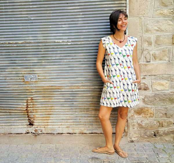 Robe Bla-Bla Calao, Visage, www.LaTribu.shop (1)