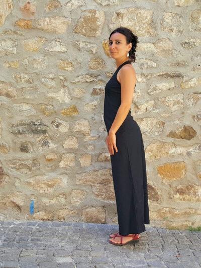 Robe Bla-Bla Pénélope longue, Black, www.LaTribu.shop (2)