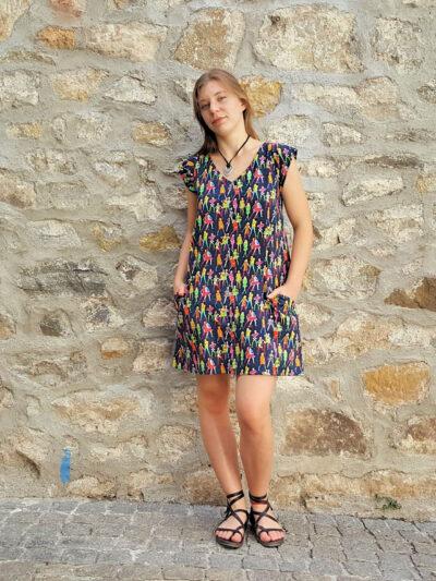 Robe Bla-Bla Calao, Fam, www.LaTribu.shop (1)