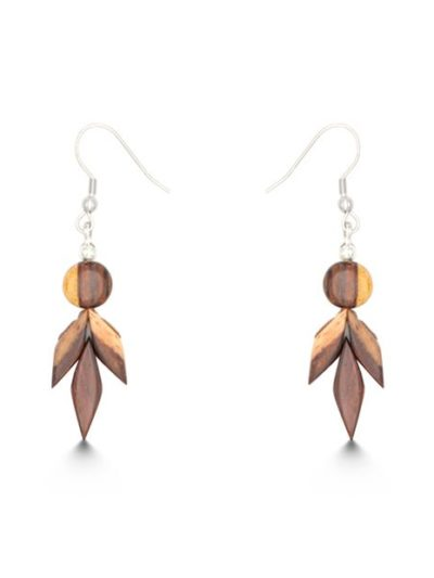 Boucles d'oreilles Katy, bicolore, www.LaTribu.shop