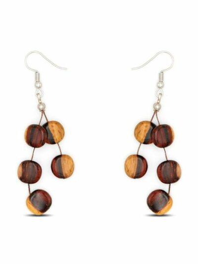 Boucles d'oreilles Xenia, bicolore, www.LaTribu.shop