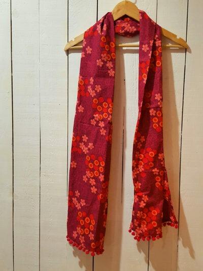 Foulard Kali-Yog, Flospi pink, www.LaTribu.shop (1)