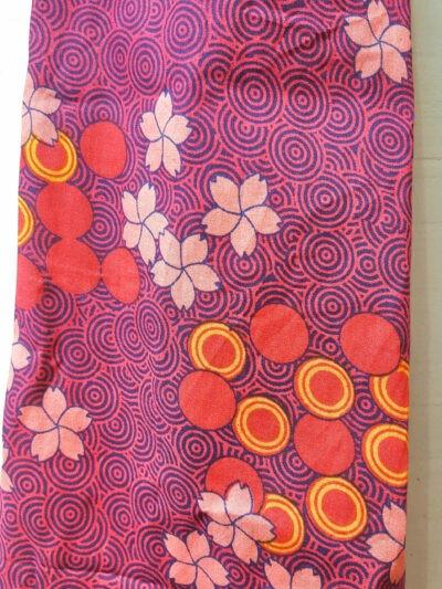 Foulard Kali-Yog, Flospi pink, www.LaTribu.shop (2)