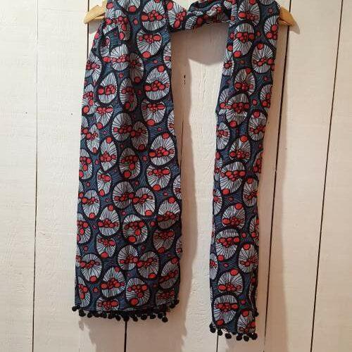 Foulard Kali-Yog (Spider red), www.LaTribu.shop