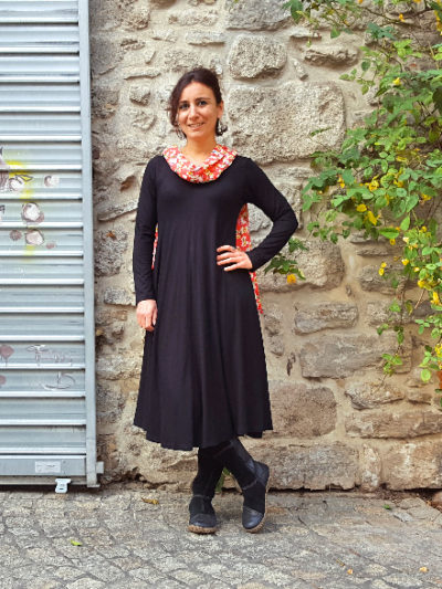 Robe Kali-Yog Tatiana (Black), www.LaTribu.shop (1)