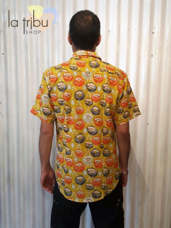 Chemise homme colorée Kali-Yog (3)