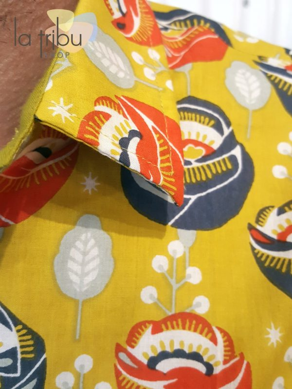 Chemise homme colorée Kali-Yog (4)