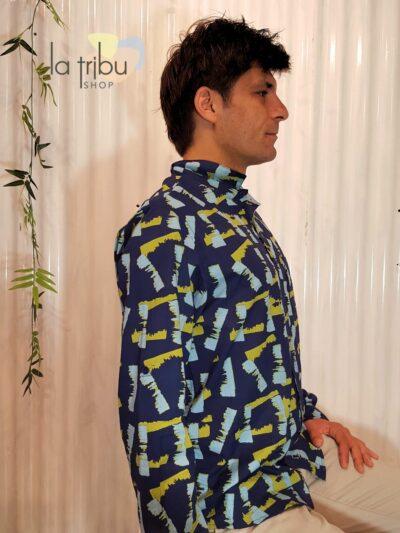 Chemise artiste homme Kali-Yog (2)