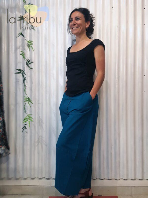 Pantalon Kali-Yog Gem, Duck blue, www.LaTribu.shop (2)