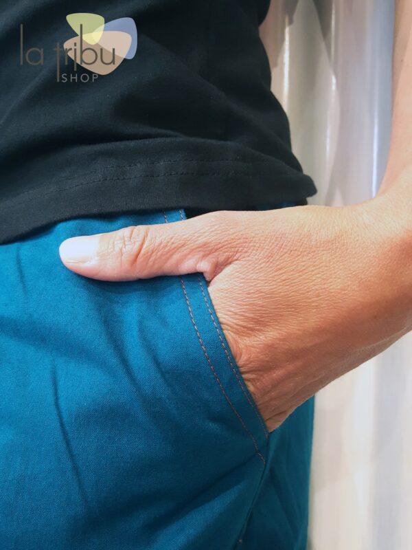 Pantalon Kali-Yog Gem, Duck blue, www.LaTribu.shop (4)