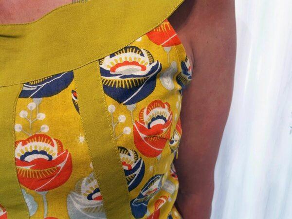 Robe courte hippie colorée Kali-Yog (4)
