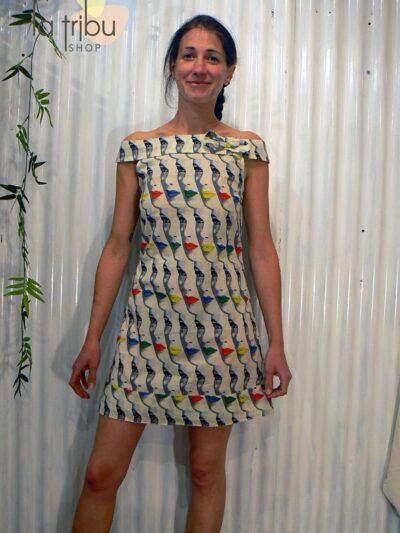 Robe Bla-Bla Iris, Visage, www.LaTribu.shop (1)